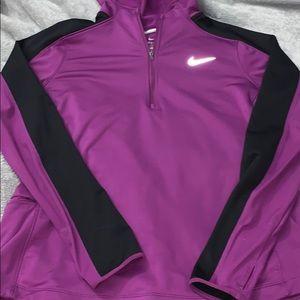 Women's half zip Nike Dri-fit hoodie